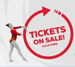 The wait is finally over! Tickets for the 2017 FIG Artistic Gymnastics World Championships are now on sale.